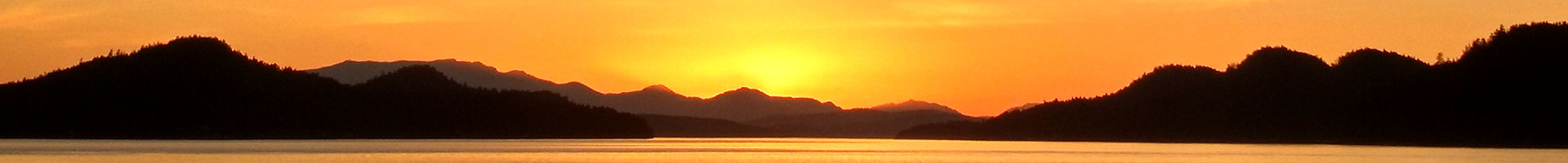 Sunset background image for Web Development Victoria BC